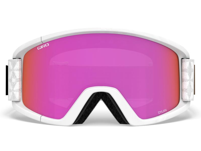 Gogle narciarskie / snowboardowe giro dylan white quilted gr-7083568