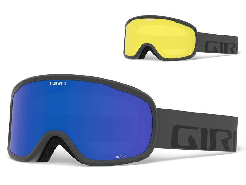 Gogle narciarskie / snowboardowe giro roam grey wordmark gr-7094458