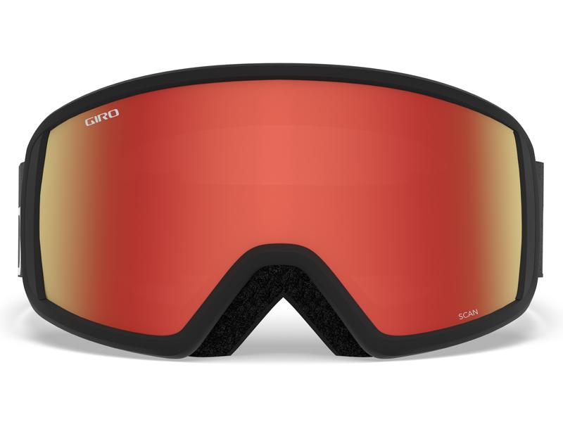 Gogle narciarskie / snowboardowe giro scan flash black wordmark gr-7083142
