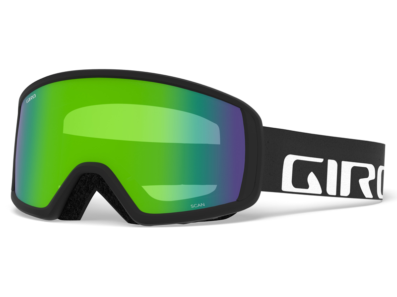 Gogle narciarskie / snowboardowe giro scan flash black wordmark gr-7083143