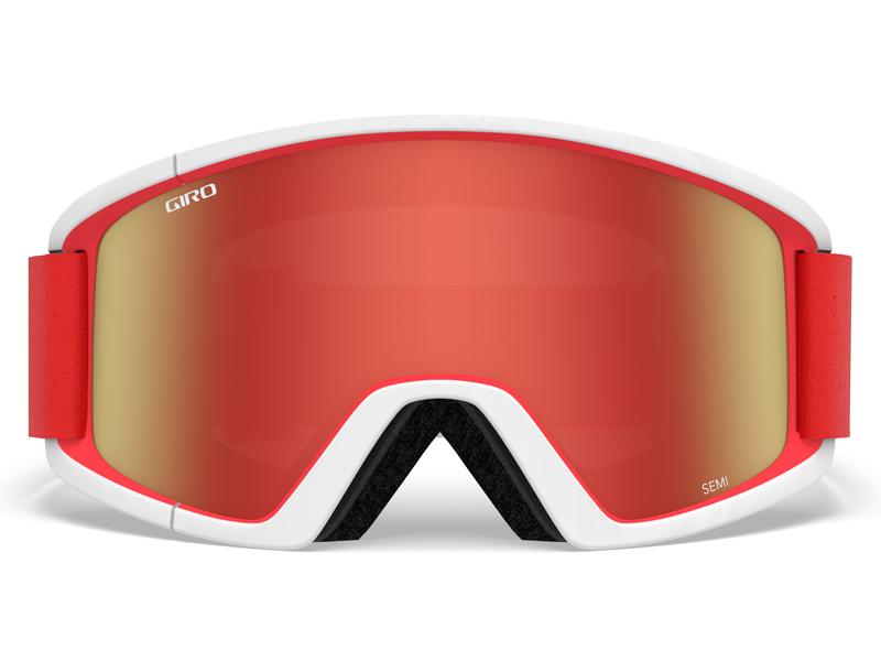Gogle narciarskie / snowboardowe giro semi red white apex gr-7094596