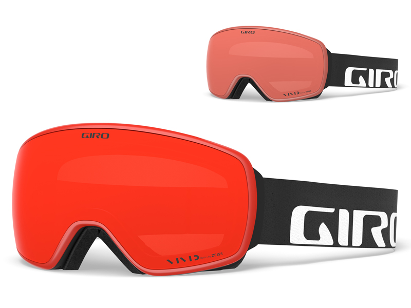 Gogle narciarskie / snowboardowe giro agent black wordmark gr-7094195