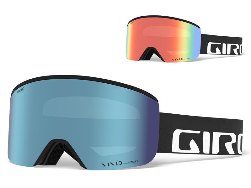 Gogle narciarskie / snowboardowe giro axis black wordmark gr-7082515