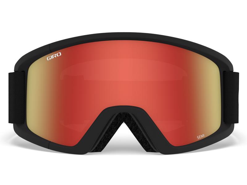 Gogle narciarskie / snowboardowe giro semi black core gr-7083510