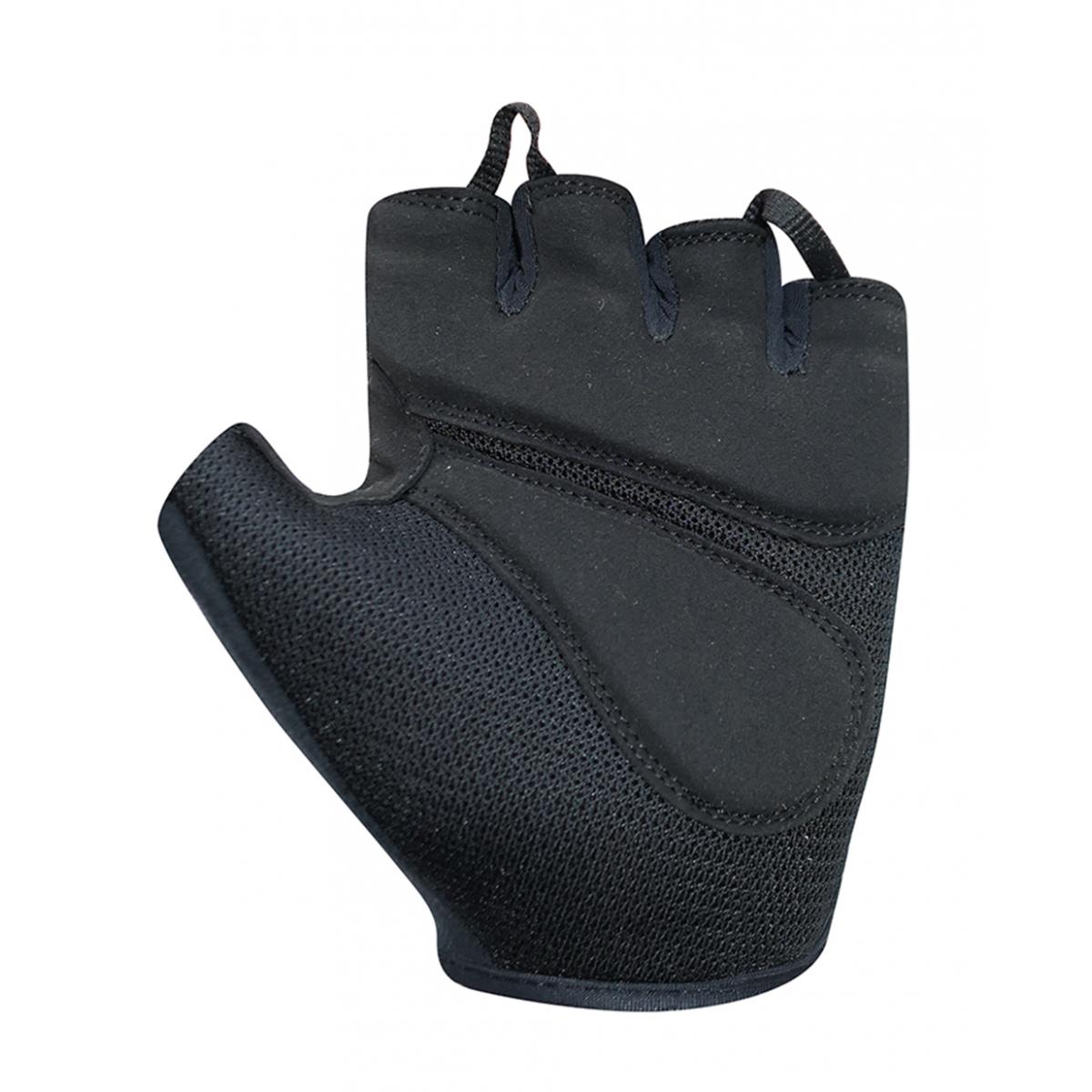 Chiba lady gel damskie rękawiczki rowerowe, czarne - Rozmiar: XS