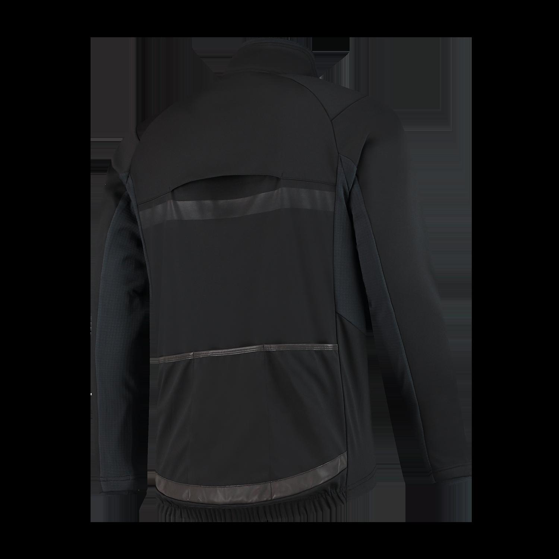 Rogelli  kurtka rowerowa męska barrier czarna - Rozmiar: 2XL